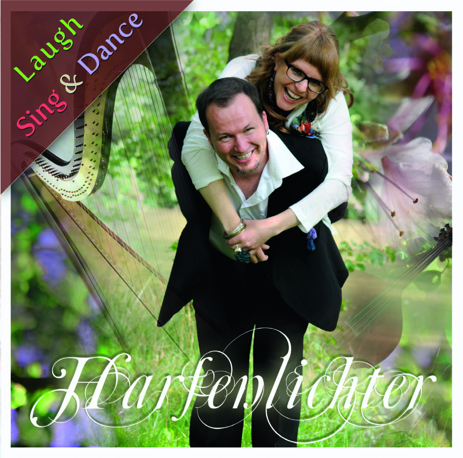 "Harfenlichter CD ""Laugh, Sing & Dance"""